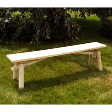 <strong>Moon Valley Rustic</strong> Wood Picnic Bench