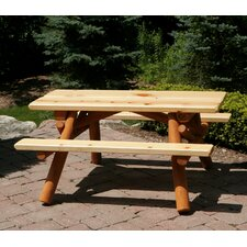 <strong>Moon Valley Rustic</strong> Nicholas Kids Picnic Table
