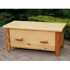 <strong>Moon Valley Rustic</strong> Nicholas Collection Toy Chest / Blanket Box