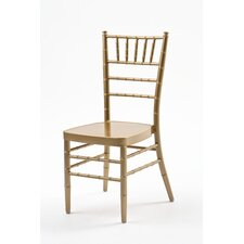 Armless Chiavari Stacking Chair with Cushion
