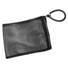 Mesh Collection Bag in Black