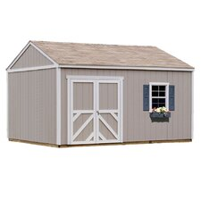 Premier Series 12 Ft. W x 16 Ft. D Wood Storage Shed