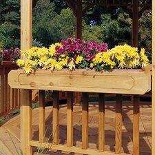 """San Marino & Monterey Gazebo 6"""" H x 3' 6"""" W x 10"""" D Flower Box"""