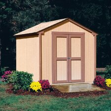 "Marco Series 8' W x 7'8.63"" D Kingston Wood Storage Shed"
