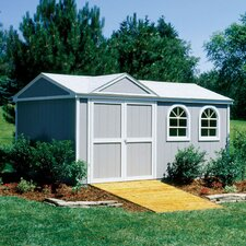 Premier Series 10 Ft. W x 8 Ft. D Wood Storage Shed
