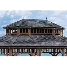 Monterey Oval Second Tier Roof for 10' W x 14' D Gazebo