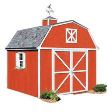Premier Series 10 Ft. W x 12 Ft. D Wood Storage Shed