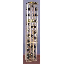 Premium Redwood 63 Bottle Wine Rack