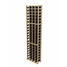 Rustic Pine 84 Bottle Wine Rack
