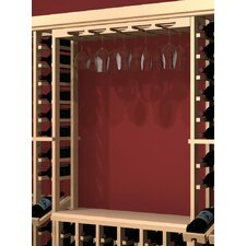 <strong>Wine Cellar Innovations</strong> Rustic Pine Wall Mounted Wine Glass Rack