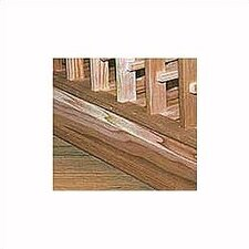 Premium Redwood Cardboard Straight Trim Kit