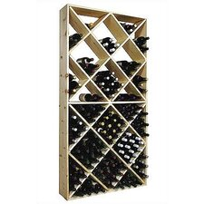 Country Pine 208 Bottle Wine Rack