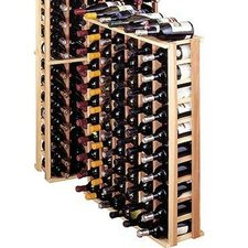 Premium Redwood 66 Bottle Wine Rack
