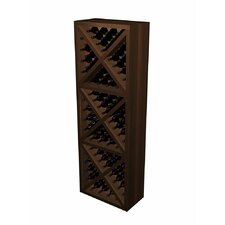 Designer Series 132 Bottle Diamond Cube Wine Rack