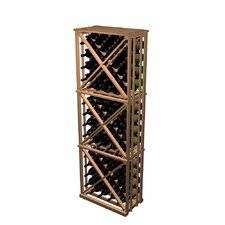 Designer Series 132 Bottle Open Diamond Cube Wine Rack