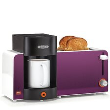 Bella 2-Slice Toaster and Brewer