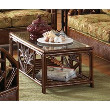 <strong>Hospitality Rattan</strong> Cancun Palm Coffee Table