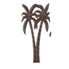 Coco Palm Patio Wall Décor