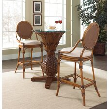 Oyster Bay 3 Piece Pub Table Set