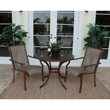 Chub Cay Patio 3 Piece Bistro Set