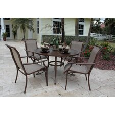 Chub Cay Patio 5 Piece Dining Set