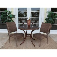 Grenada Patio 3 Piece Bistro Set