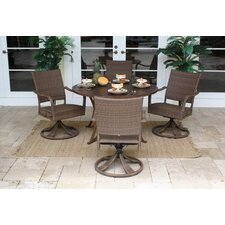 Grenada 5 Piece Dining Set