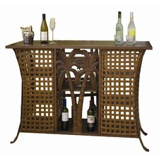 <strong>Hospitality Rattan</strong> Coco Palm Patio Home Bar