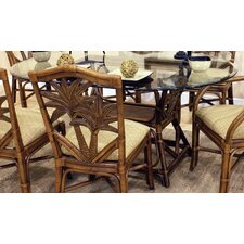 <strong>Hospitality Rattan</strong> Cancun Palm Dining Table