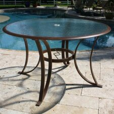 <strong>Hospitality Rattan</strong> Coco Palm Patio Round Dining Table