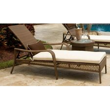 <strong>Hospitality Rattan</strong> Grenada Patio Chaise Lounge Cushion