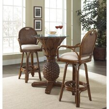 <strong>Hospitality Rattan</strong> Sunset Reef  3 Piece Pub Table Set