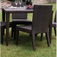 <strong>Hospitality Rattan</strong> Soho Patio Woven Square Dining Table