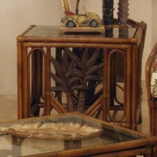 <strong>Hospitality Rattan</strong> Cancun Palm End Table