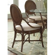 <strong>Hospitality Rattan</strong> Oyster Bay Dining Side Chair with Cushion