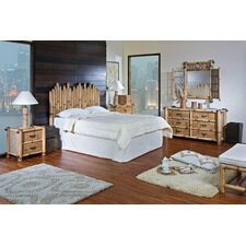 Havana Bamboo Panel 4 Piece Bedroom Collection