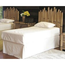 <strong>Hospitality Rattan</strong> Havana Bamboo Panel 4 Piece Bedroom Collection