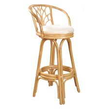 "<strong>Hospitality Rattan</strong> Valencia 24"" Counter Stool with Cushion"