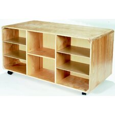 Korners For Kids Double Sided Mobile Storage Island