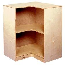 "Childcraft 30.63"" Durable Inside Corner Bookshelf"
