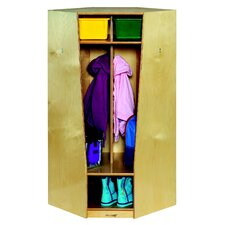Childcraft Corner Coat Locker