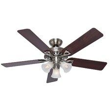 "52"" Sontera 5 Blade Remote Ceiling Fan"
