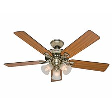 "52"" The Sontera® 5 Blade Ceiling Fan with Remote"
