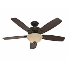 "52"" Banyan 5 Blade Ceiling Fan with Remote"