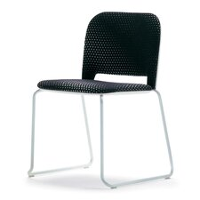 Lips Stacking Side Chair with Ganging Device