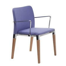 Zenith Stacking Chair with Cushion