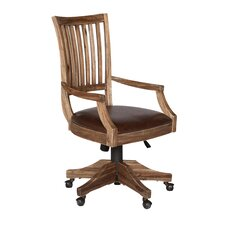 Adler Wood Back Desk Chair
