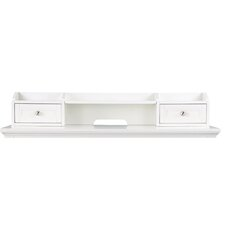 "Kentwood 8"" H x 46.25"" W Desk Hutch"