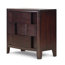 Nova 3 Drawer Nightstand