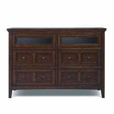 Harrison 6 Drawer Media Dresser